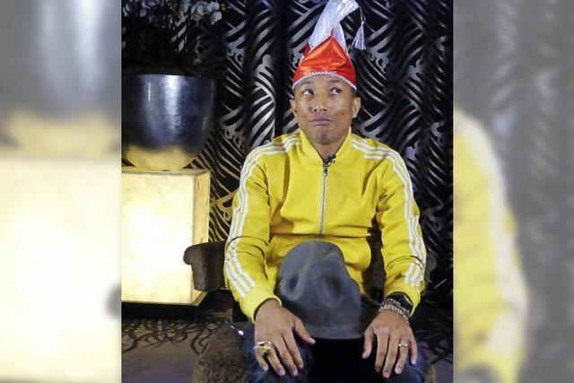 Pharrell Williams: Der Minnnesänger des Pop