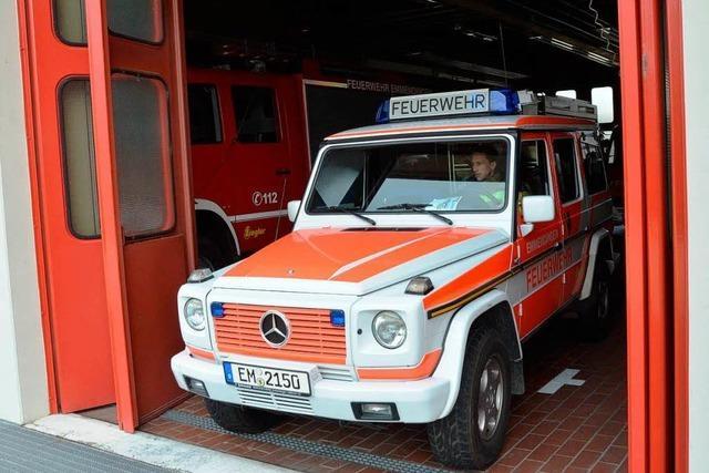 Stress bei der Feuerwehr - drei Zugführer treten aus
