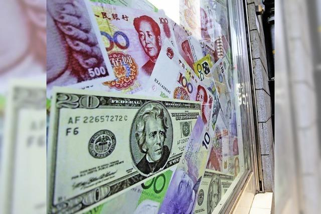China drückt den Kurs des Yuan