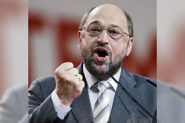 Martin Schulz will neuer Präsident der Europäischen Kommission werden
