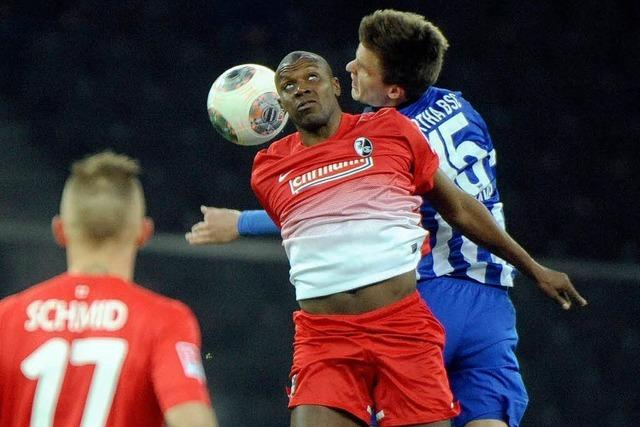 0:0 gegen Hertha BSC: Freiburg erkämpft sich einen Punkt