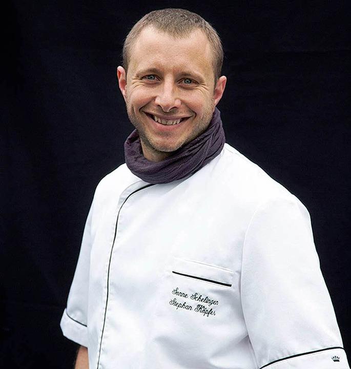 Nimmt von allem nur das Beste: Küchenchef Stephan Köpfer  | Foto: Michael Wissing
