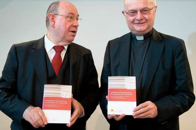Kirchen geißeln die Rente mit 63 – gemeinsames Sozialpapier