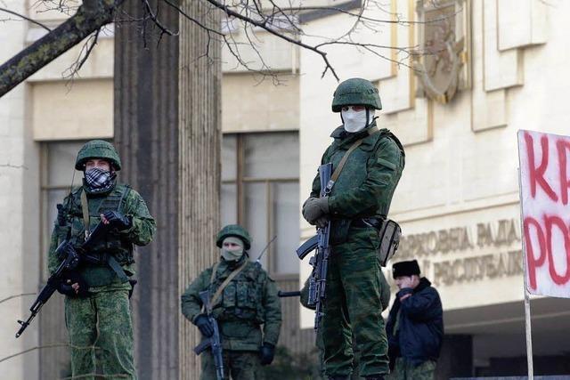 Russland stimmt Militäreinsatz auf der Krim zu