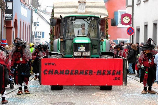 Fotos: Bunter Umzug in Kandern