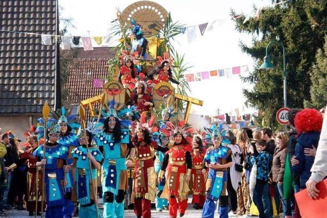 Fotos: Jubel zum Jubiläumsumzug in Hartheim