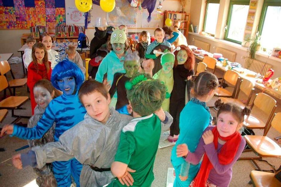 In der Vörstetter Schule wird getanzt (Foto: Cornelius Welsch)