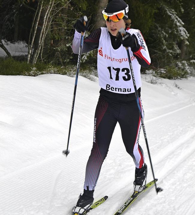 Johanna Knöpfle legte beim Lauf um den... Schülerinnen am schnellsten zurück.    | Foto: Helmut Junkel