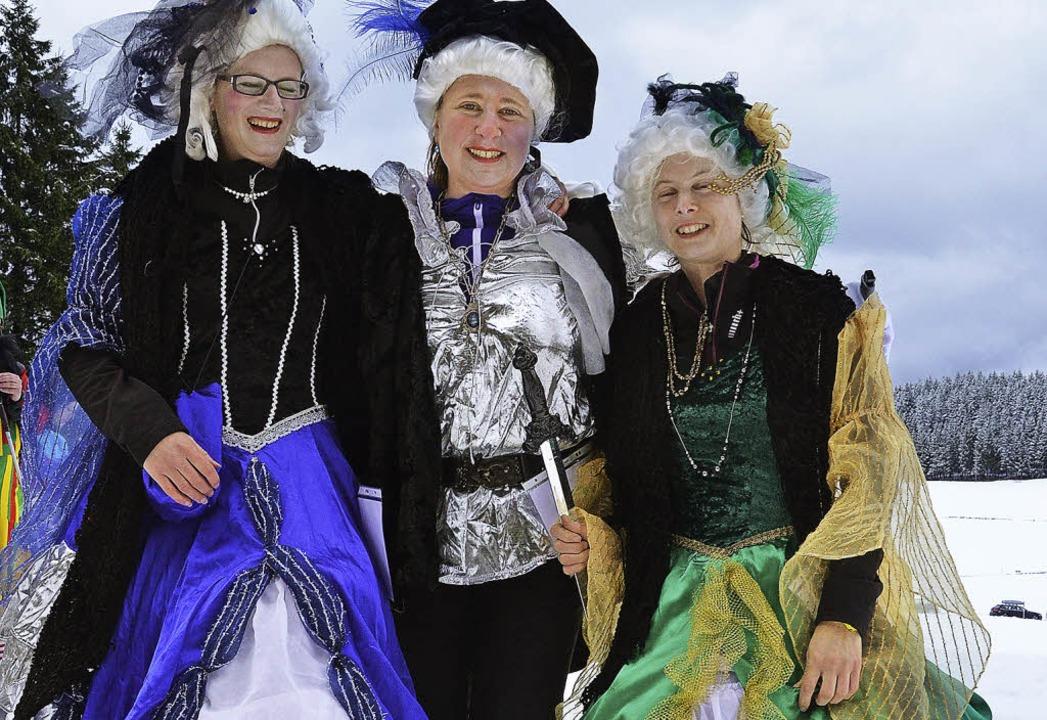 Bunt und fantasievoll  präsentierten s...orrmann, Birgit Rombach, Tanja Ruth).   | Foto: Markus Straub