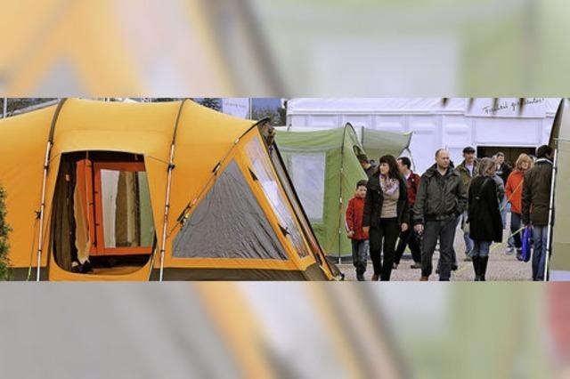 CFT-Freizeitmessen: Von Angel bis Zelt