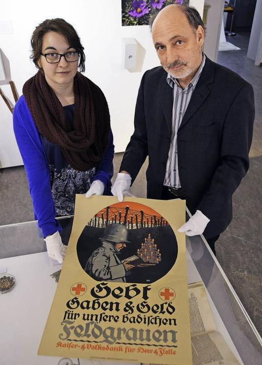 Museumsleiter Markus Moehring und Proj...t, das von der EU mitfinanziert wird.     Foto: Felix Held