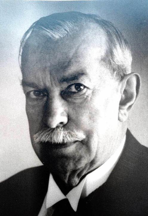 Hermann Dietrich   | Foto: Archiv-Foto: Hubert Mäntele