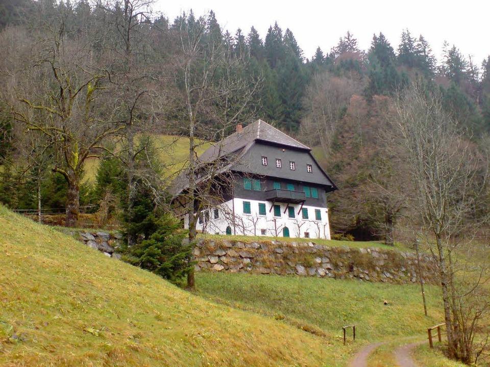 Der Waldvogelhof, ehemals im Besitz von Hermann Dietrich  | Foto: privat