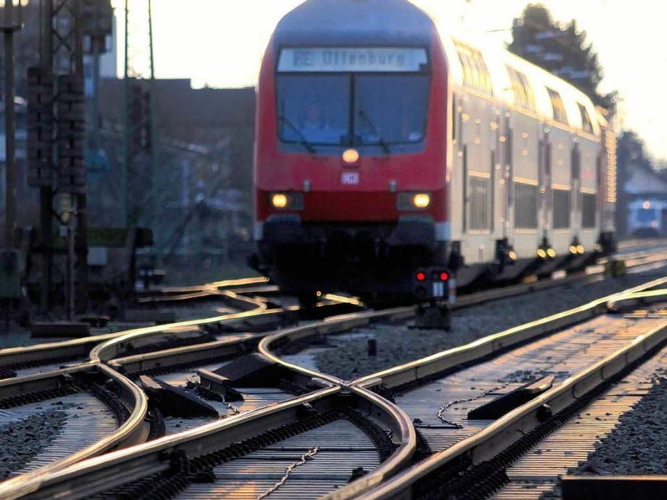 Verspätungen auf der Rheintalbahn sind...ahrgastbeirat mittlerweile chronisch.   | Foto: Gollrad
