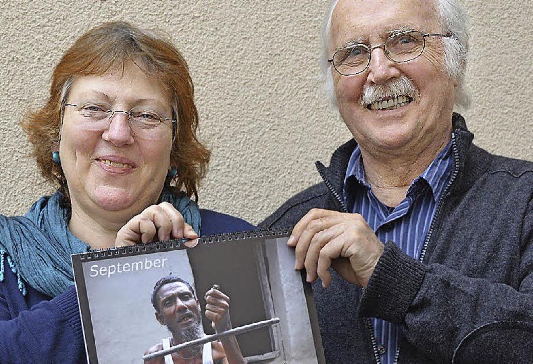 Bettina Mühlen Haas und Ehemann Peter Haas bilden den Vorstand der Stiftung.   | Foto: Walser