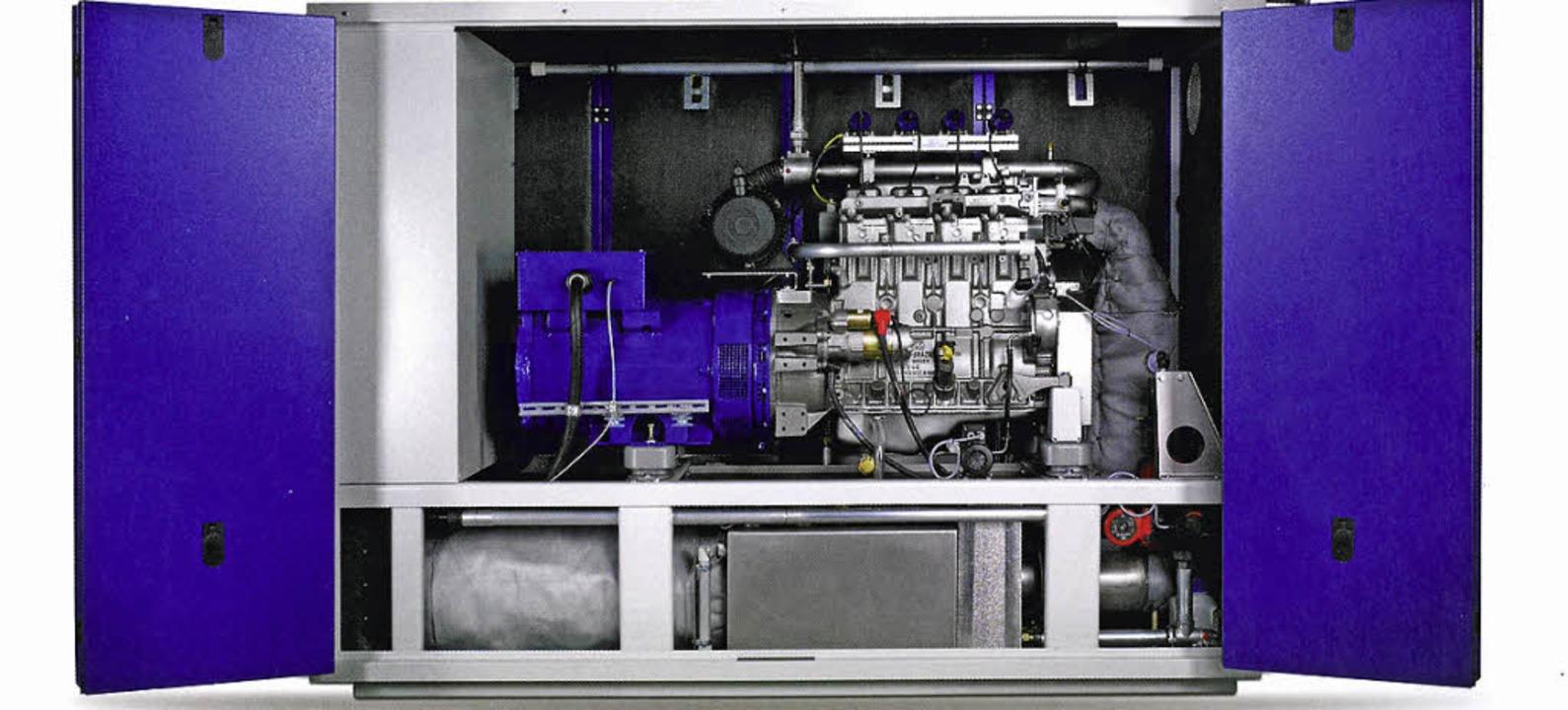 Blockheizkraftwerk von Senergie  | Foto: Senergie