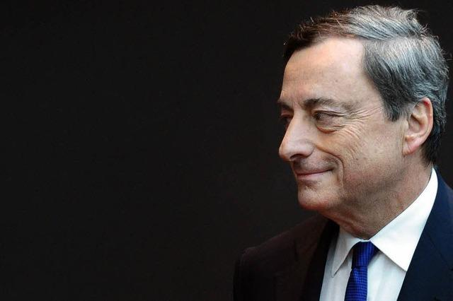Draghi spürt nicht einmal einen Hauch von Inflation