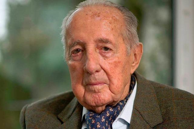 Peter Scholl-Latour wird 90 Jahre alt