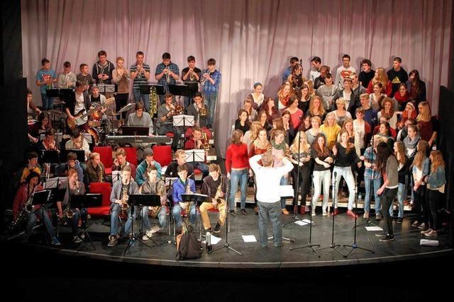 Best of Big Band und Oberstufenchor