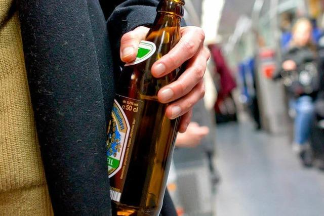 Schlägerei mit Bierflasche