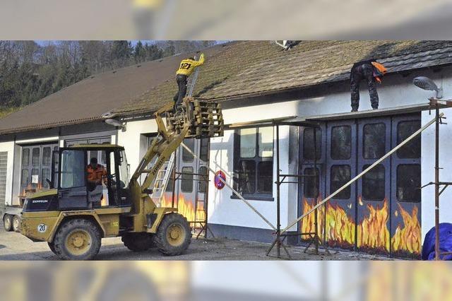 Feuerwehrhaus: Entscheidung im April