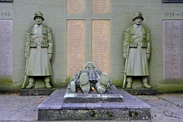 Diskussionen um ein Denkmal
