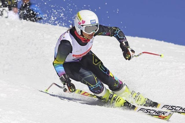 Das Skifahren liegt in der Familie