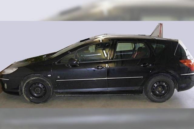 Soko Elztal sucht Peugeot