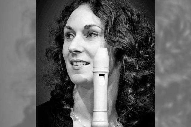 Silke Gwendolyn Schulze spielt im Dreiländermuseum Lörrach