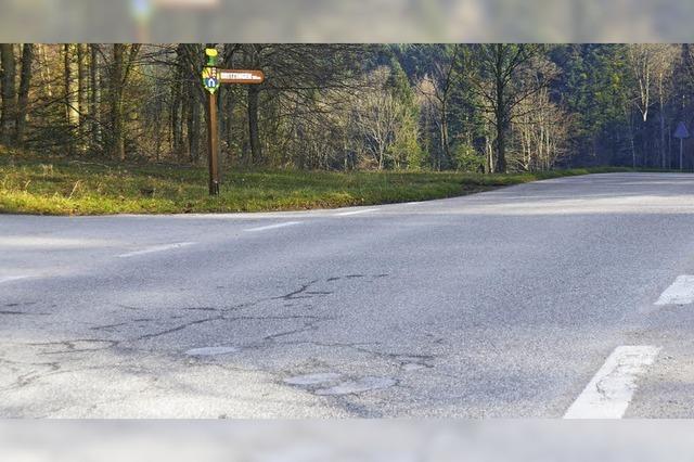 Verbindungsstraßen werden saniert