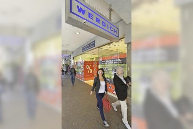 Kaiser-Joseph-Straße: Schuhhaus Werdich geht, Tom Tailor kommt