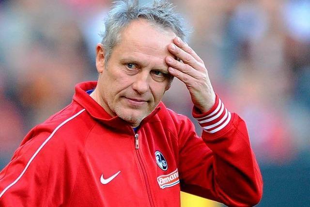 SC-Trainer Streich sollte seinen Unmut besser zügeln