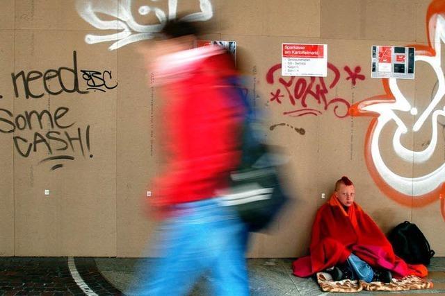 Immer mehr Jugendliche haben keinen Wohnsitz