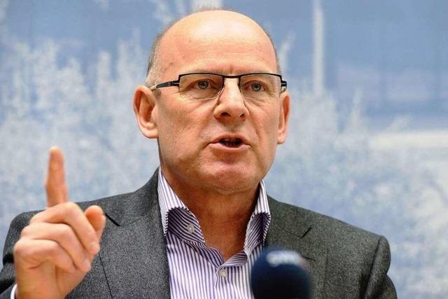 Stuttgart 21: Minister Hermann hält positives Gutachten zurück
