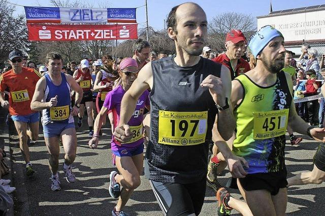 Rekordbeteiligung beim Kaiserstuhllauf