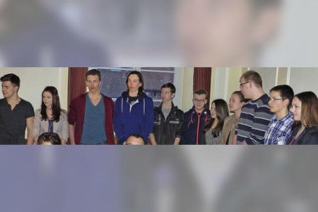Das Kommunalparlament applaudiert dem Jugendparlament