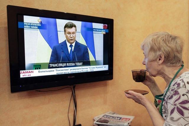 Krim-Parlament erklärt Unabhängigkeit