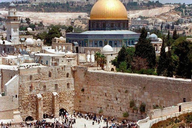 Der Tempelberg in Jerusalem – Spazieren auf dem Vulkan