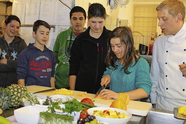Schüler erkunden die Berufswelt