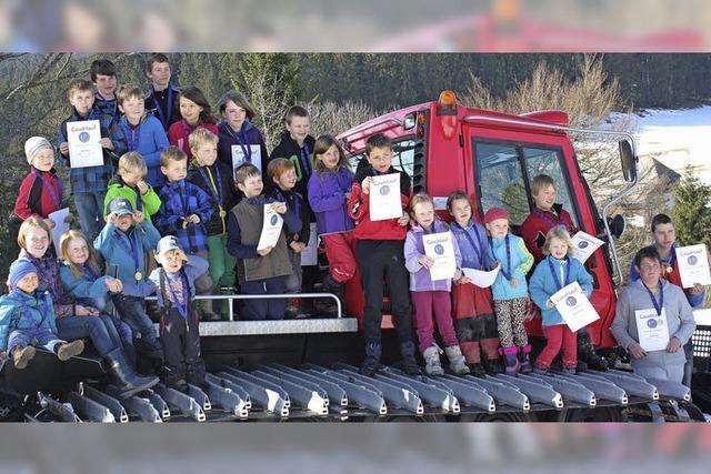 Kinder-skifest mal ganz anders