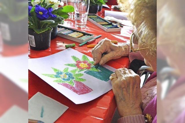 Wo Senioren sich kreativ erleben