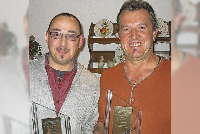 Große Anerkennung für zwei Waldauer
