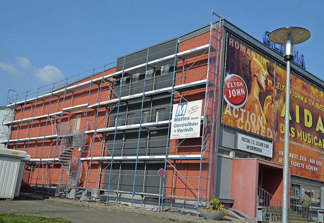Immer wieder eine Baustelle – das Gloria-Theater   | Foto: Axel Kremp