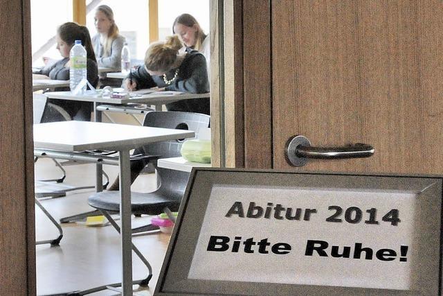 Psst, Abitur! 130 Prüflinge in Gundelfingen