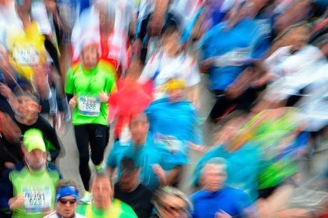 Laufen beim Freiburg-Marathon – die große Freiheit