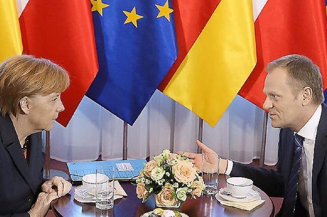 Merkel warnt Putin