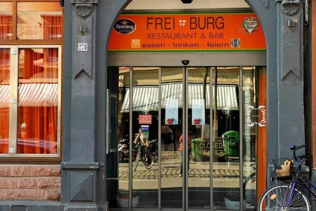 Aus der Freiburg-Bar wird das Lokal