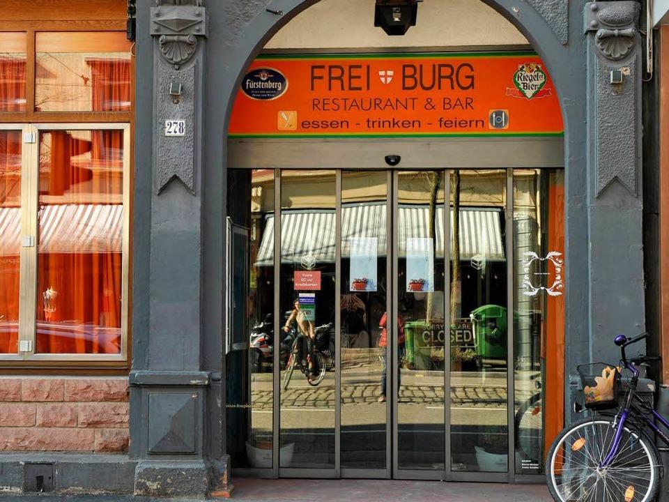 """Das Wort """"Bar"""" im Namen soll Gäste irritiert haben.    Foto: Rita Eggstein"""