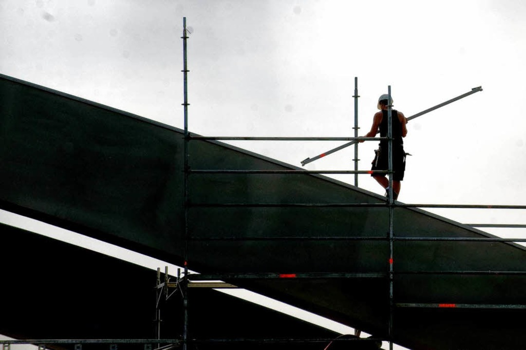 Anfällig für Schwarzarbeit und Sozialversicherungsbetrug – der Bau  | Foto: dpa
