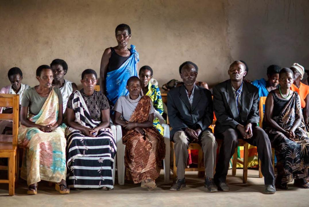 Schwierige Versöhnung: Dorfversammlung in Nyakagezi  | Foto: Thomas Imo/photothek.net